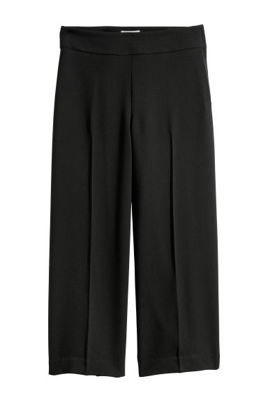 Ankle-length trousers - Black -  | H&M