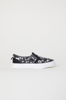 Patterned Slip-on Shoes