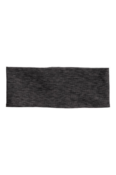 Headband - Black marl - Ladies | H&M