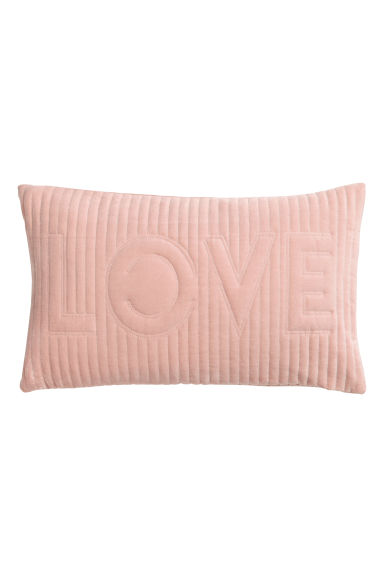 Quilted cushion cover - Pink - Home All | H&M GB