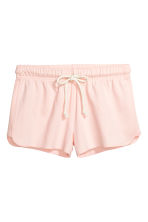 Pyjamas with a top and shorts - Light pink - Ladies | H&M CA 4