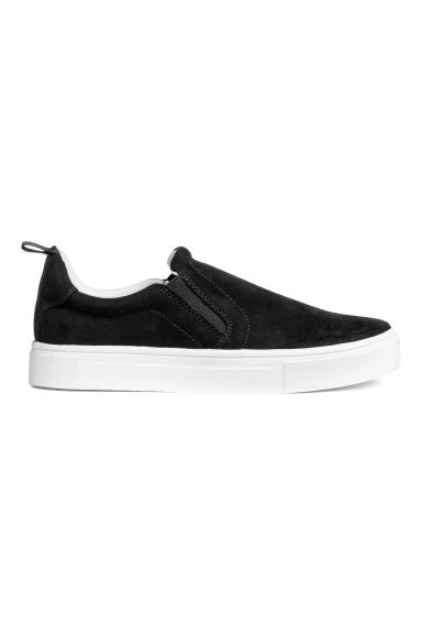 Sneakers slip-on - Nero - DONNA | H&M IT