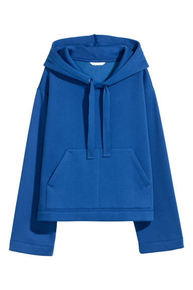 Hooded top - Dark blue -  | H&M
