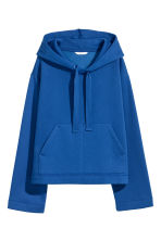 Hooded top - Dark blue - Ladies | H&M IE 1