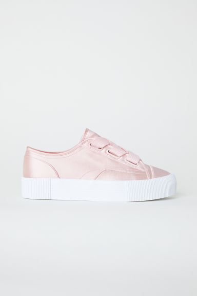 Sneakers - Rosa cipria/satin - DONNA | H&M IT