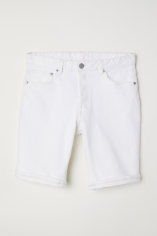 Denim shorts Slim fit
