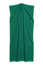 Jacquard-patterned bath towel - Dark green - Home All | H&M GB 2