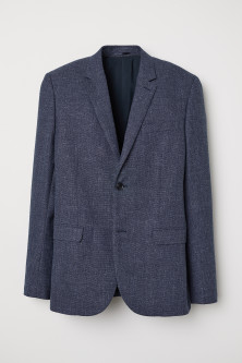 Slim Fit Wool-blend Blazer