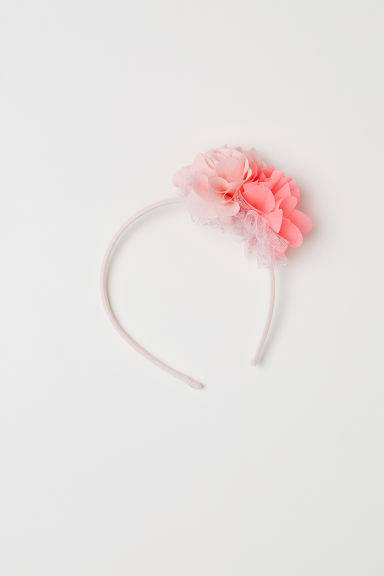 Alice band with tulle - Rosa chiaro - BAMBINO | H&M CH