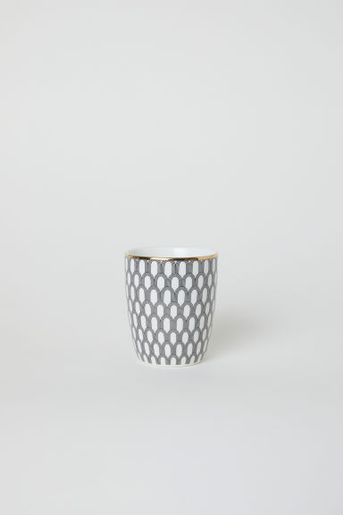Tazza in porcellana - Bianco/archi - HOME | H&M IT