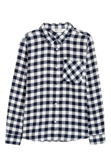 Generous Fit Cotton shirt