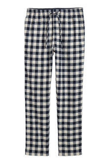 Flannel pyjama bottoms