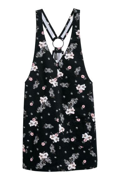 Vestido com estampado - Preto - SENHORA | H&M PT