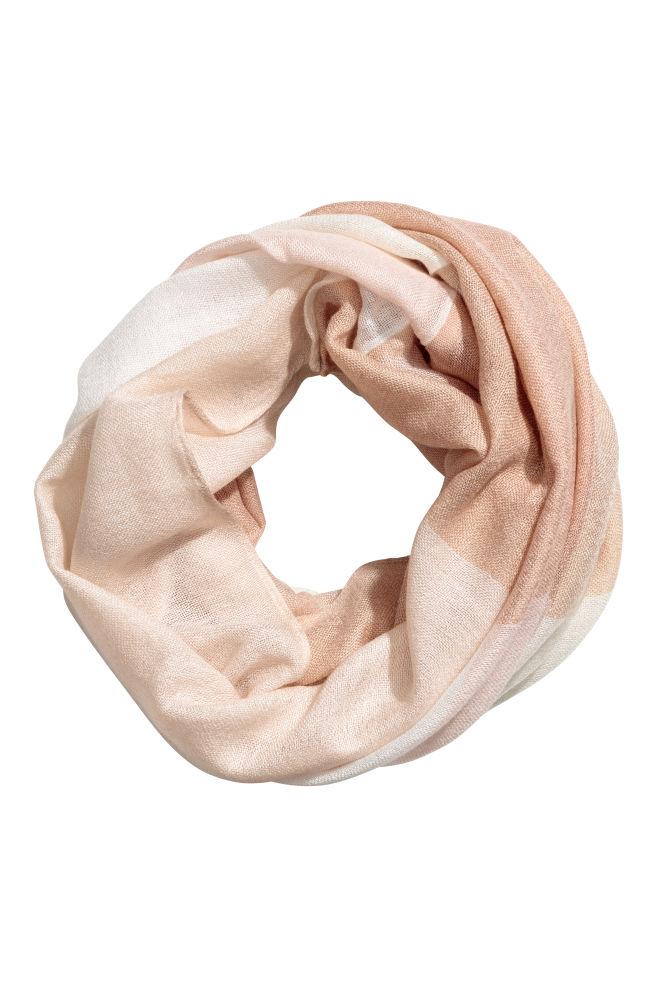 Tube scarf - Powder pink - | H&M GB 1