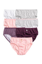 Lot de 7 culottes - Prune/rose - ENFANT | H&M FR 1