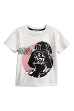 T-shirt and joggers - Grey/Star Wars - Kids | H&M CN 2