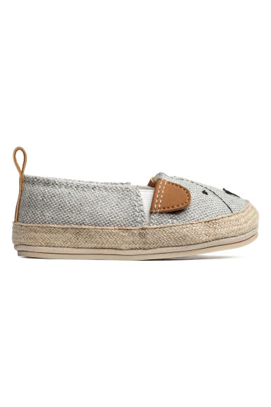 Espadrilles - Light grey -  | H&M GB