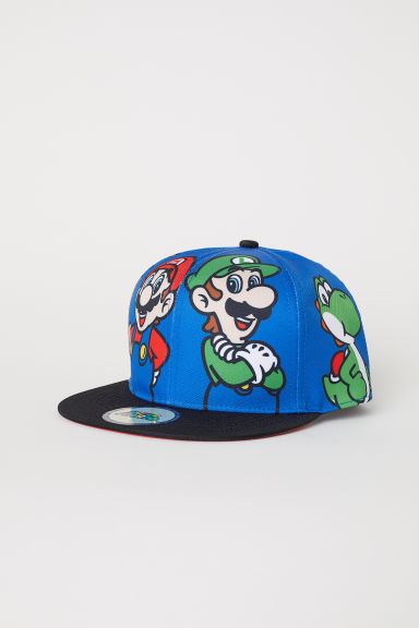 Berretto con motivo - Blu acceso/Super Mario -  | H&M IT