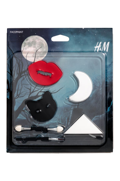 Face paint set - Black/White/Red - Kids | H&M