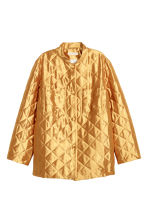 Quilted jacket - Gold-coloured - Ladies | H&M 2