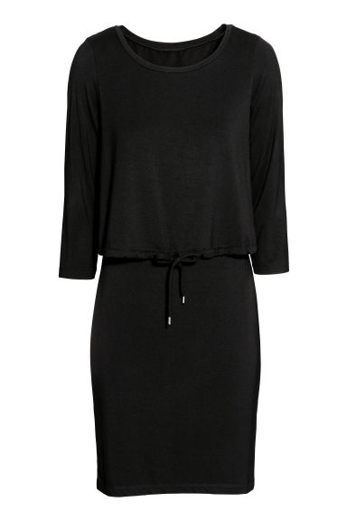 MAMA Nursing dress - Black -  | H&M CN