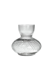Mini-vase en verre transparent