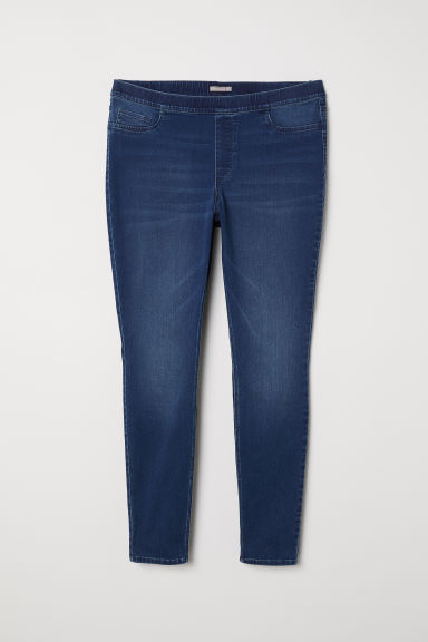 H&M+ Treggings - Dark denim blue - Ladies | H&M