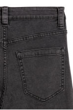 Pantalon de style motard - Noir washed out - FEMME | H&M BE 2