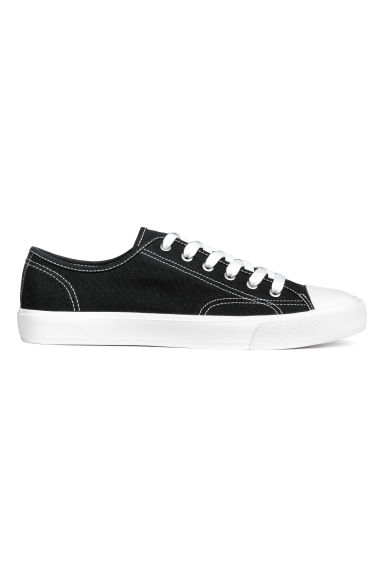 Canvas shoes - Black - Men | H&M CN