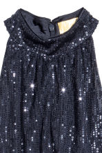 Sequined dress - Dark blue - Ladies | H&M 3