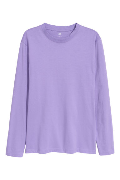 Long-sleeved top Loose fit Model