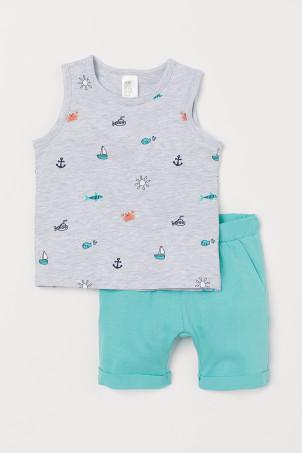 Tank Top and Shorts