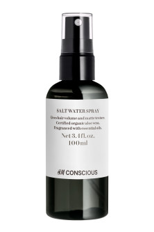 Salt water spray