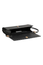 Scallop-edged clutch bag - Black - Ladies | H&M IE 2