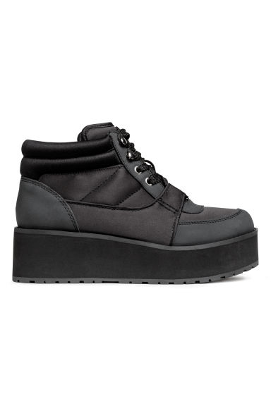 Sneakers con plateau - Nero - DONNA | H&M IT