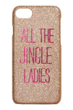 iPhone 6/8 case - Gold-coloured/Pink - Ladies | H&M CN 1