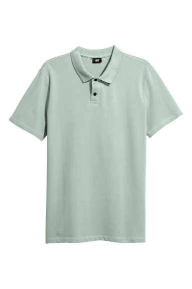Polo shirt - Light green - Men | H&M GB