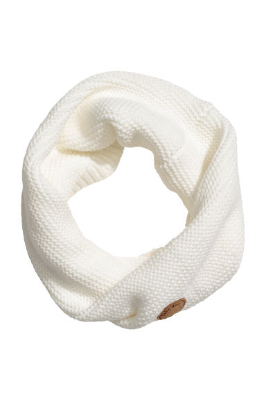 Snood au point mousse - Blanc - ENFANT | H&M FR