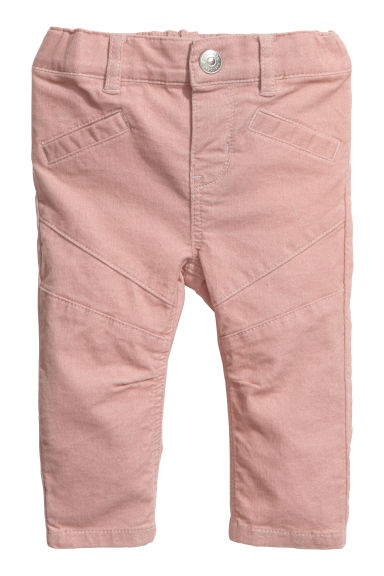 Pantalon en velours - Rose poudré - ENFANT | H&M BE