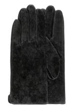 Suede Gloves - Black -  | H&M CA 1