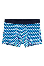 3-pack trunks - Dark blue/Multicoloured - Men | H&M GB 5