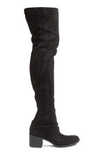 Knee-high boots - Black - Ladies | H&M CN 1