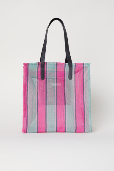 Sac shopping en mesh - Multicolore -  | H&M FR