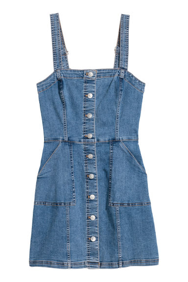 Denim Dress Model