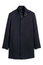 Short coat - Dark blue - Men | H&M 1