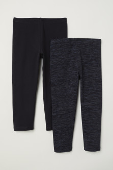 Lot de 2 leggings 3/4