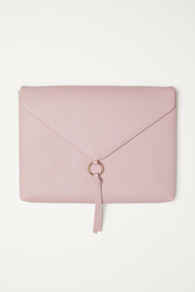 Padded laptop case - Light pink - Ladies | H&M CN