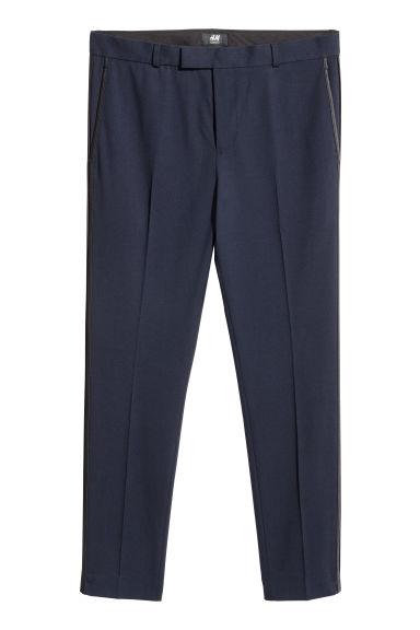 Suit trousers Skinny fit - Navy blue -  | H&M