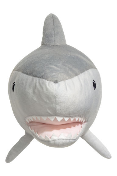 Wall decoration - Light grey/Shark - Home All | H&M GB