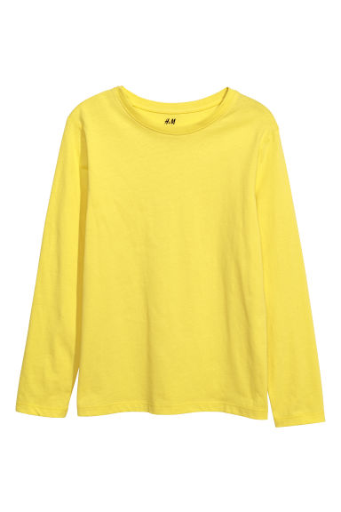 Jersey top - Yellow - Kids | H&M